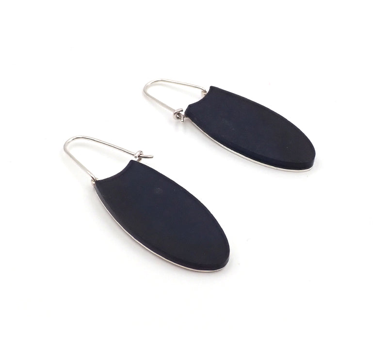Reversible Basalt Earrings