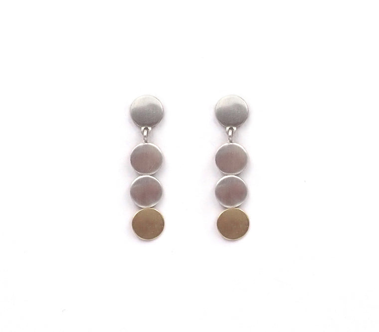 4 Disc Earrings