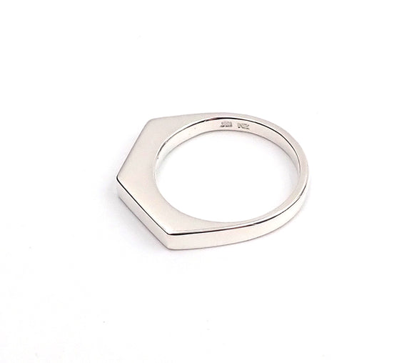 Geo Slice Stacker Ring
