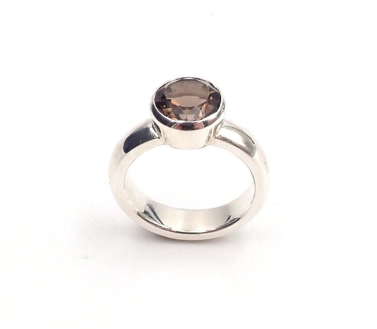 Smokey Quartz Ring