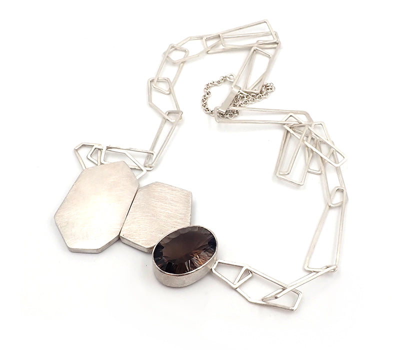 Geo Blocks Necklace