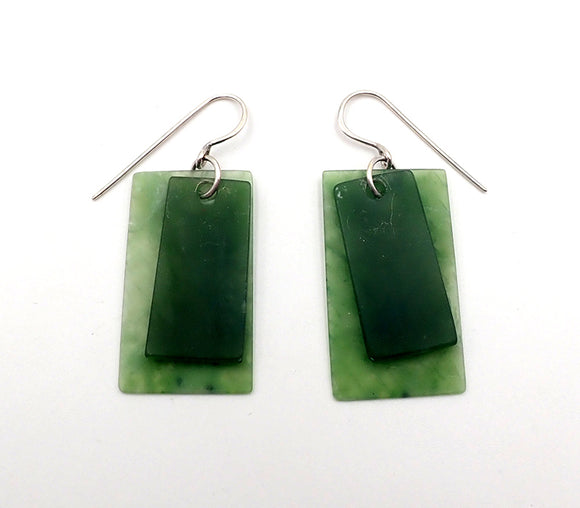 Inanga Rectangle Earrings