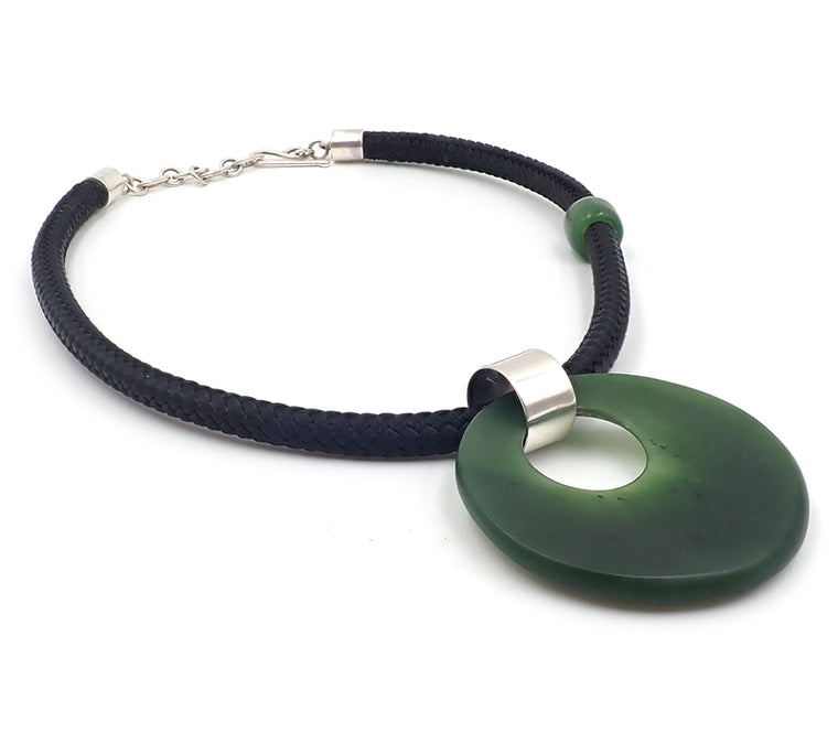 """NZ Jewellery"" ""New Zealand Jewellery"" ""NZ Made"" ""NZ handmade"" ""nz handmade pendant"" ""pendant""  ""nz necklace"" ""handmade necklace"" ""silver necklace""  ""greenstone necklace"" ""pounamu pendant"" ""pounamu necklace"" ""greenstone kete"" ""Kete"" ""stone necklace"" ""Dan Millitt"""