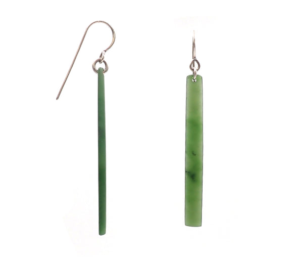 """NZ Jewellery"" ""New Zealand Jewellery"" ""NZ Made"" ""NZ handmade"" ""nz handmade earrings"" ""earrings""  ""nz earrings"" ""handmade earrings"" ""hooks"" ""studs"" ""silver earrings"" ""greenstone earings"" ""pounamu earrings""  ""tapered earrings"" ""Dan Millett"""