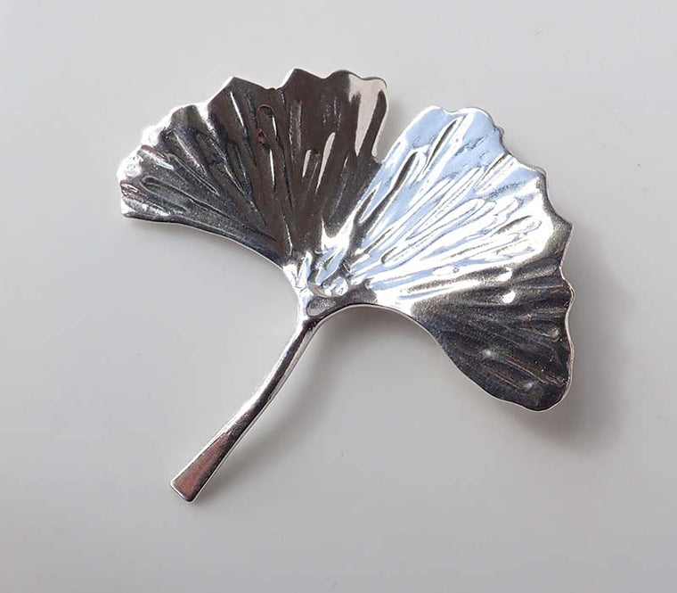Gingko Brooch
