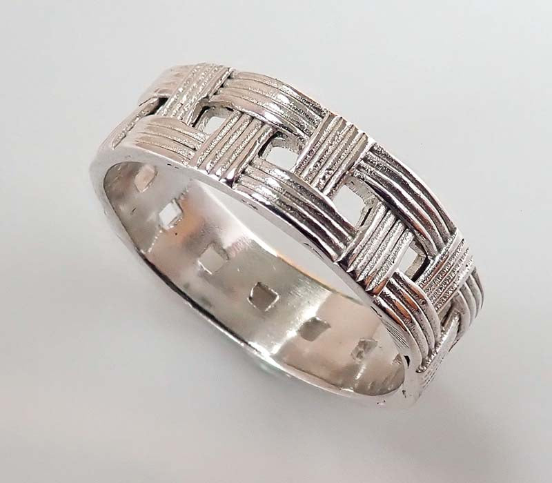 Narrow Woven Ring