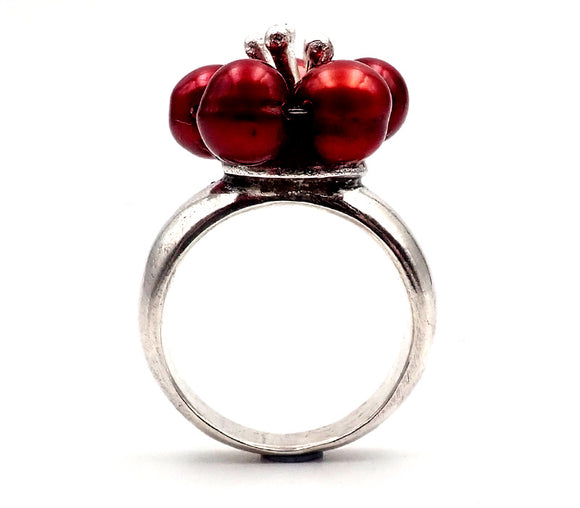 Single Plum Blossom Ring