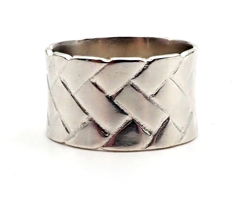 Flat Woven Ring