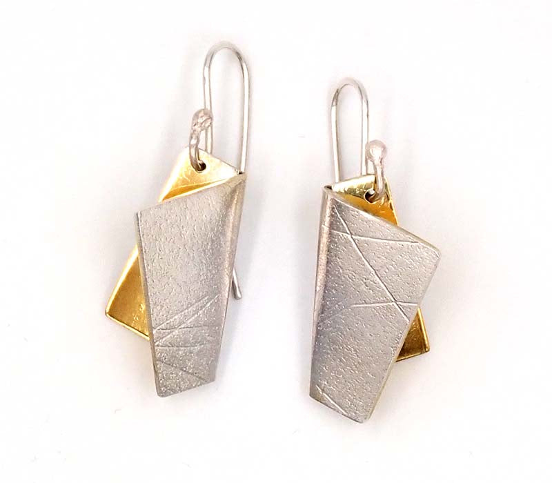 Origami Texture Earrings