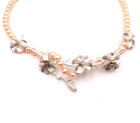 Twisted Cherry Blossom Necklace