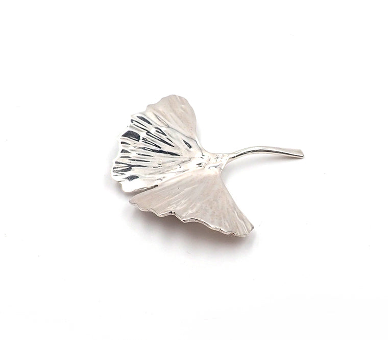 Gingko Leaf Brooch