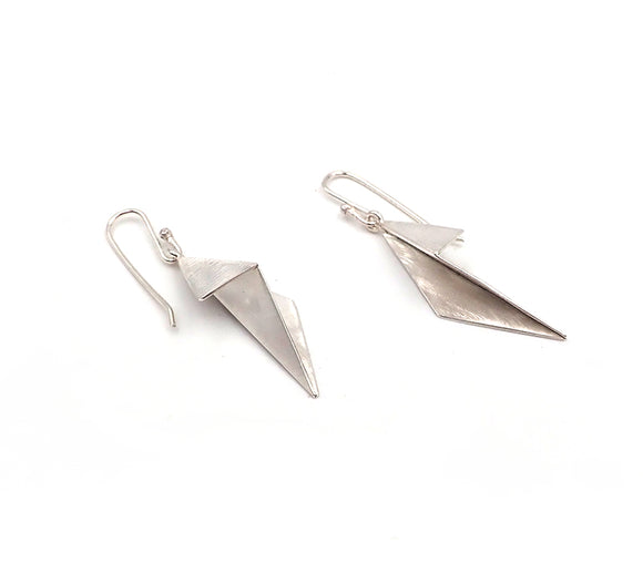 Folded Origami Earrings