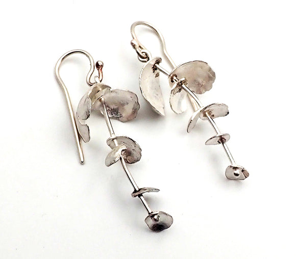Falling Petal Earrings