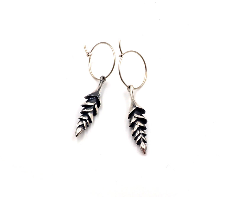 Plant Form Earrings