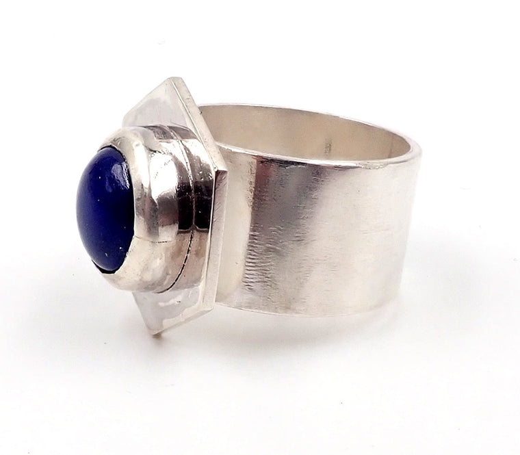 Hex Lapis Ring