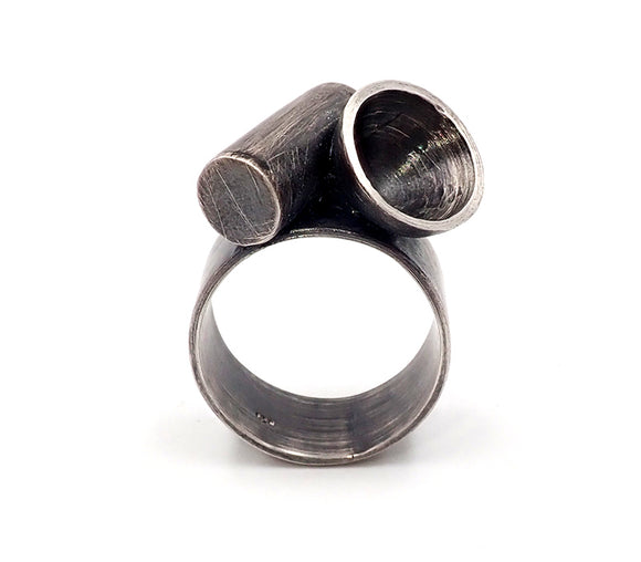 Hollow Tube and Dome Ring
