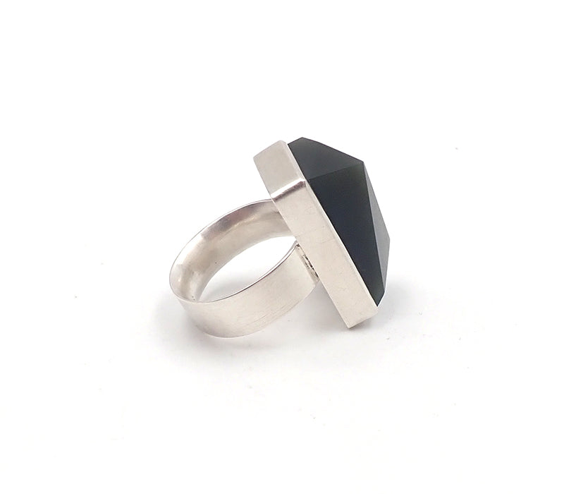 Faceted Rectangle Ring