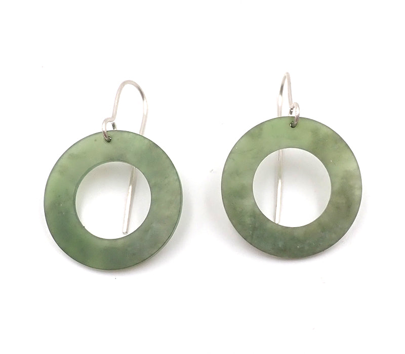 Pounamu Ring Earrings