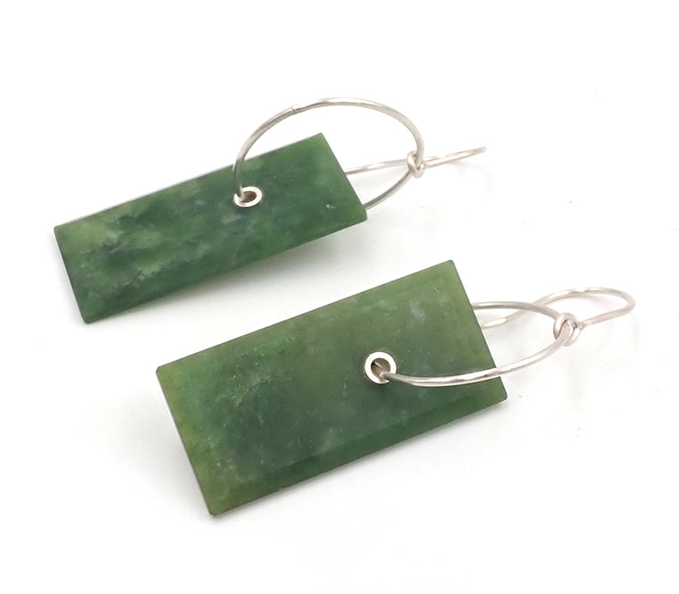 Faceted Panel Earrings
