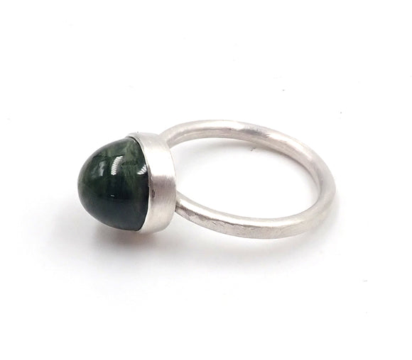 Pounamu Dome Ring
