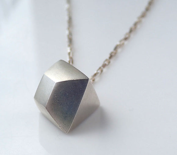 "Square ""Diamond"" Charm Pendant"