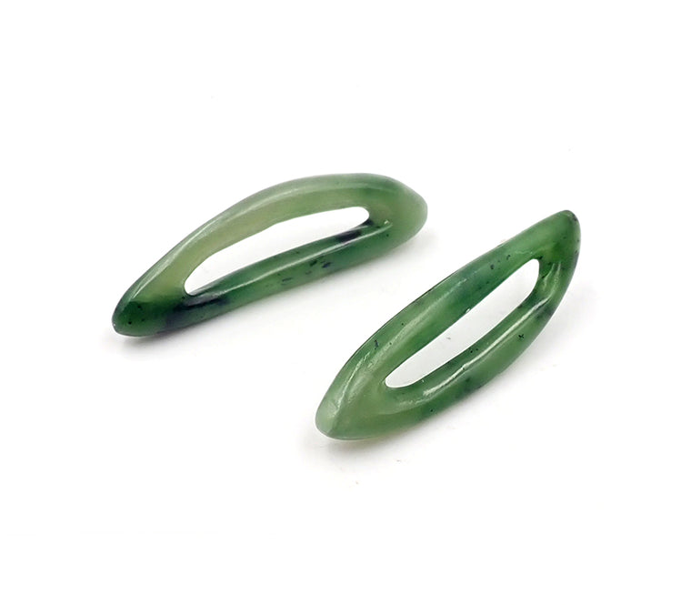 Pounamu Loop Earrings