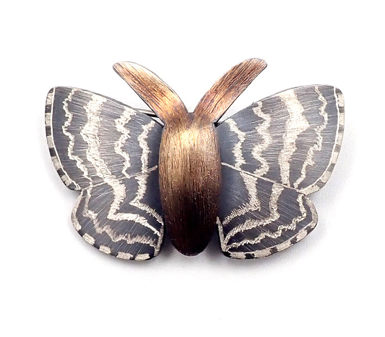 Big Moth Brooch