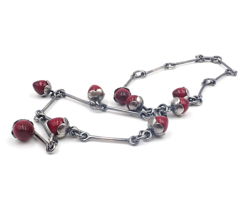 Red Bud Necklace