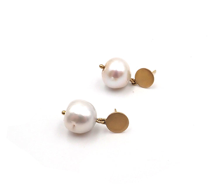 Tubby Pearl Earrings