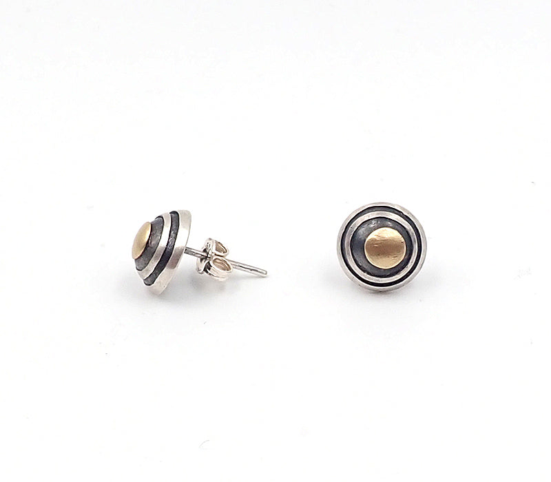 Cats Eye Stud Earrings