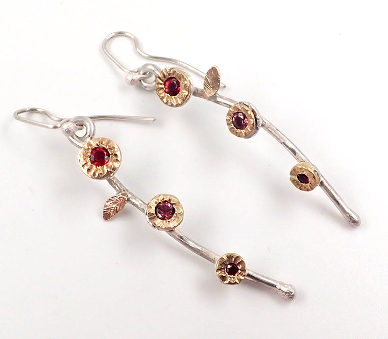 Penelope-Barnhill/royal jewellery studio/new zealand jewellery/gem set earrings