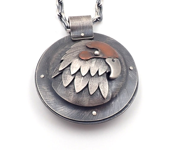 Kakariki Lisa West amulet pendant necklace