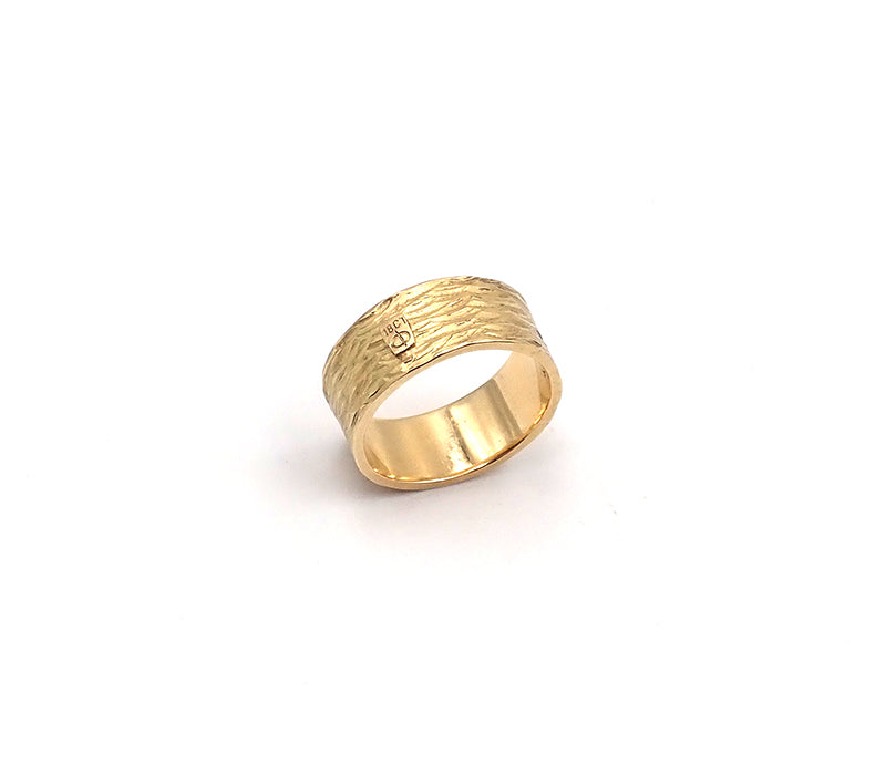 Gold Wave Ring