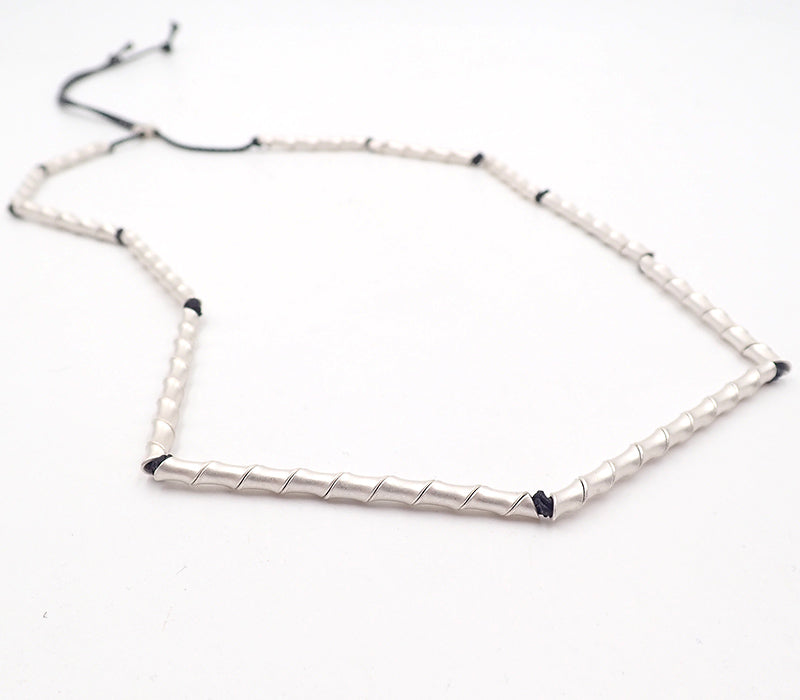 Tubular Twist Necklace