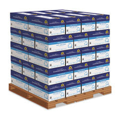 Hammermill® Great White Recycled Copy Paper, 92 Bright, 20lb, 8-1/2 x 11, 200,000 Sheets/PLT