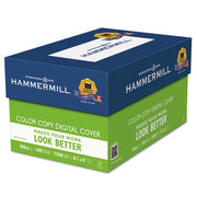Hammermill® Copier Digital Cover Stock, 100 lbs., 8 1/2 x 11, Photo White, 1500 Sheets