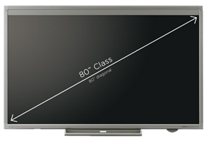 Sharp 80 Inch Aquos Board