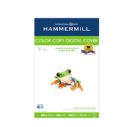 Hammermill® Copier Digital Cover, 100 lbs, 92 Brightness, 17 x 11, Photo White, 250 Sheets/Pack