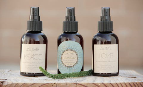 PEACE, LOVE & HARMONY Room & Body Mist Set