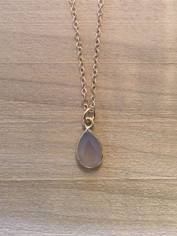 GEMINI Agate Zodiac Necklace