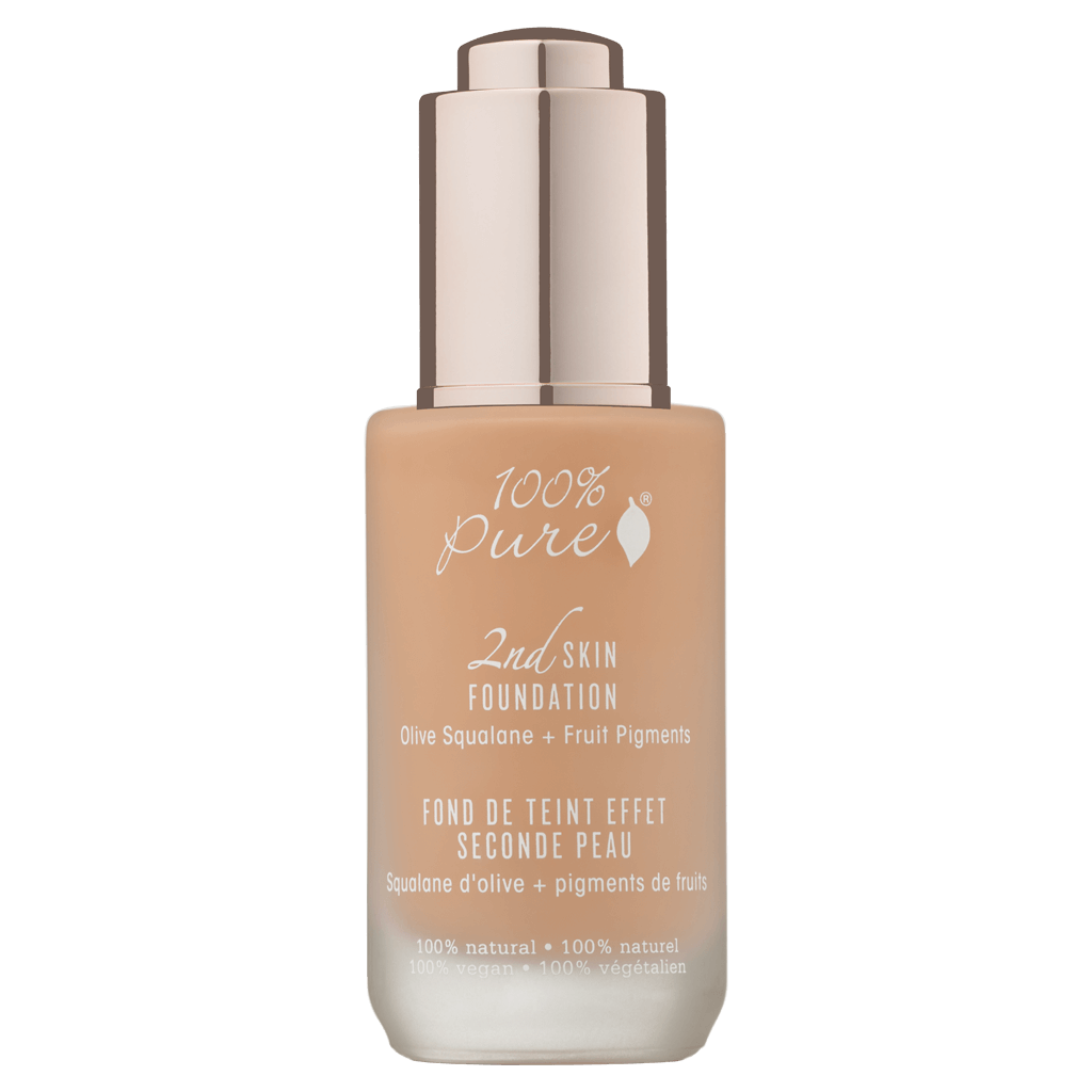2nd Skin Foundation: Golden Peach Olive Squalane + Fruit Pigments