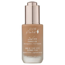 2nd Skin Foundation: Toffee Olive Squalane + Fruit Pigments