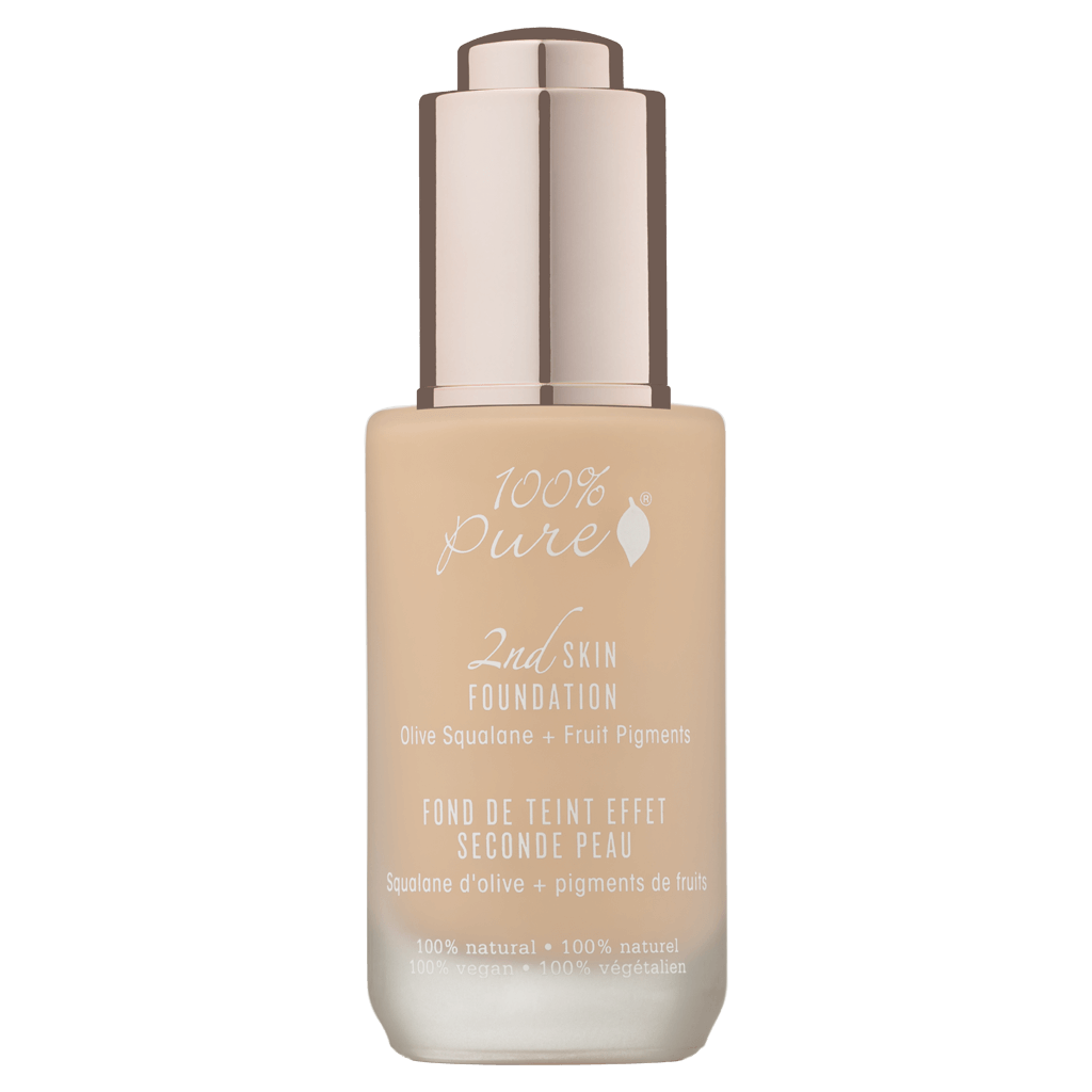 2nd Skin Foundation: White Peach Olive Squalane + Fruit Pigments