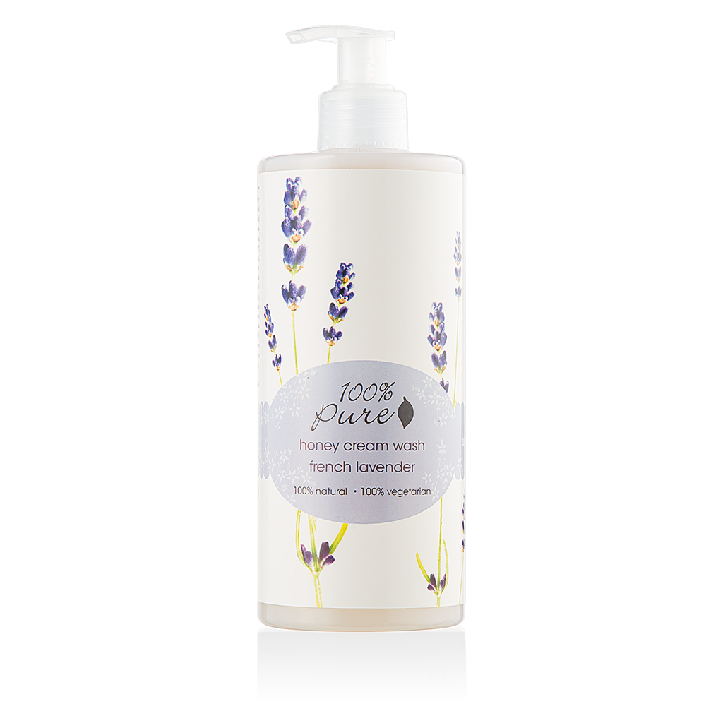 Honey Cream Wash French Lavender (Discontinued)