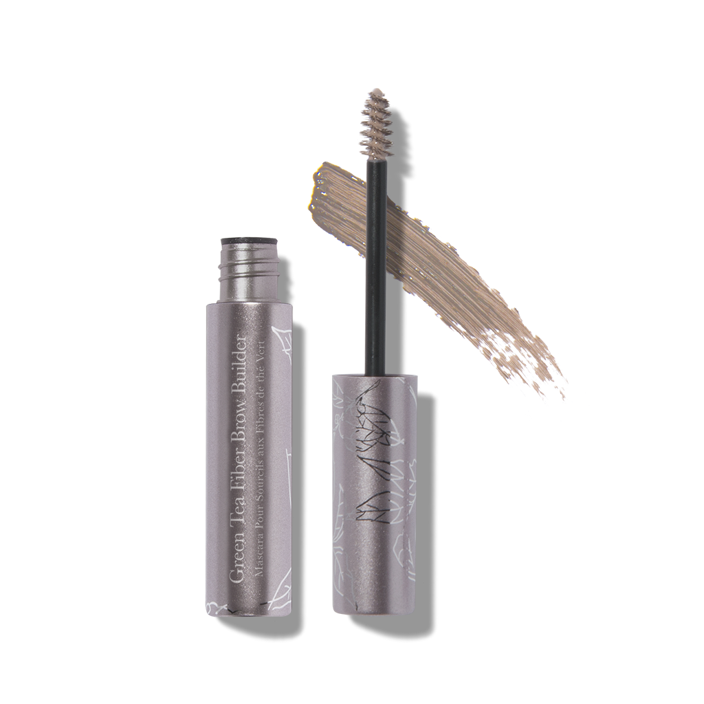 Green Tea Fiber Brow Builder: Soft Brown