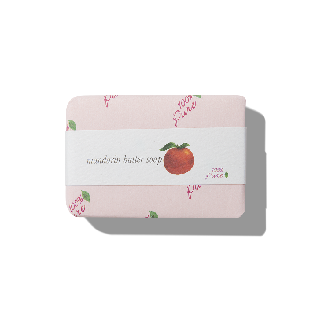 Mandarin Butter Soap