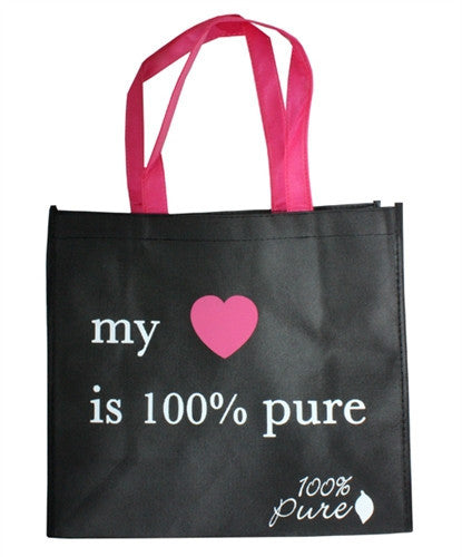 My Heart is 100% Pure Shopping Bag