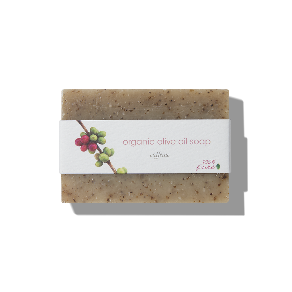 Caffeine Olive Oil Soap