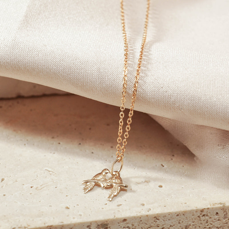 kissing bird - JoeLuc Jewelry