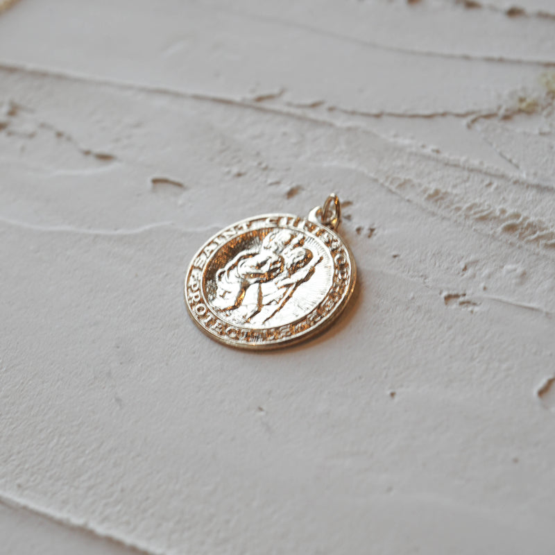 St. Christopher Charm - JoeLuc Jewelry